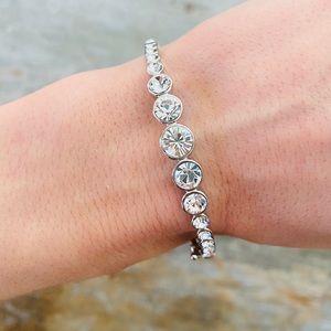 ♥️ Givenchy ♥️ Silver Diamond Bracelet